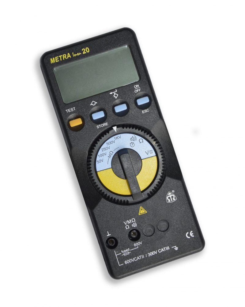 METRA INSU 20 Digitální tester izolace a kontinuity