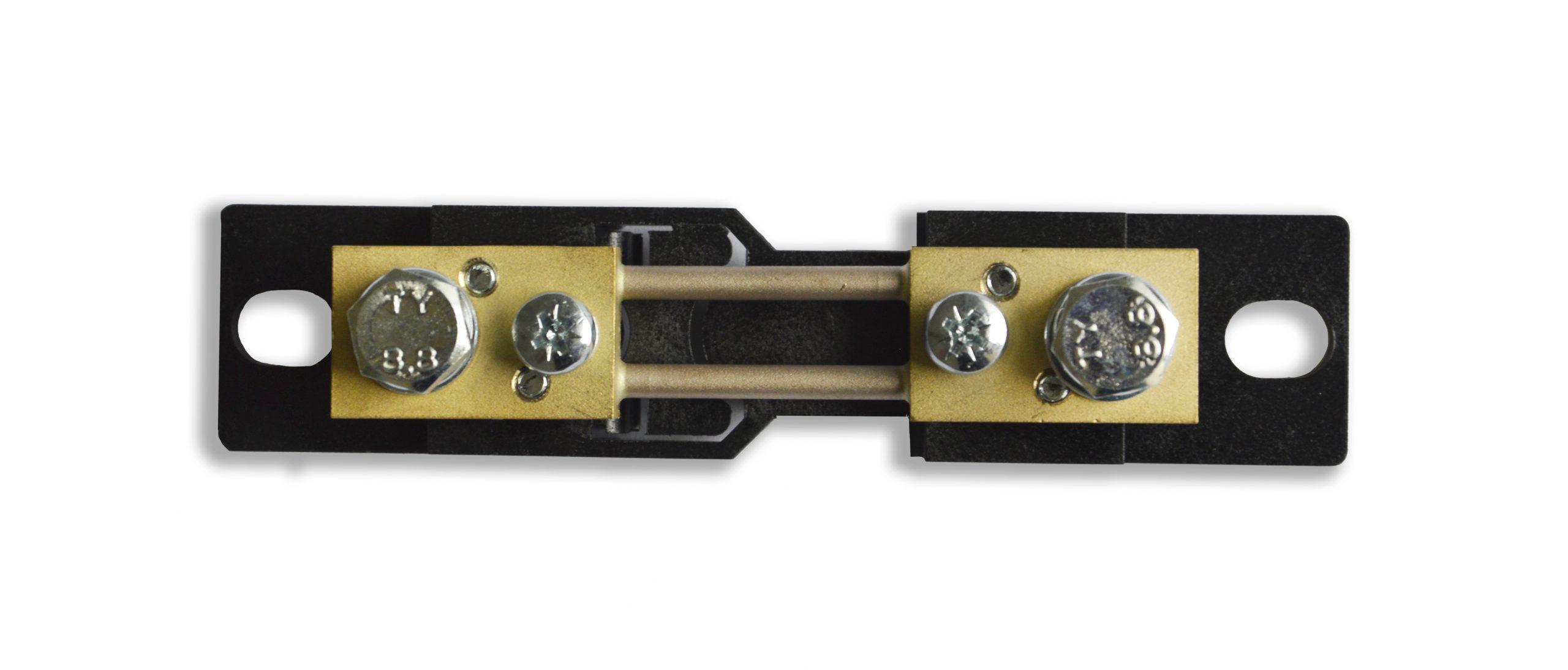 Bočník 40A/60mV; 60A/60mV; 100A/60mV; 150A/60mV s/bez izolační podložky